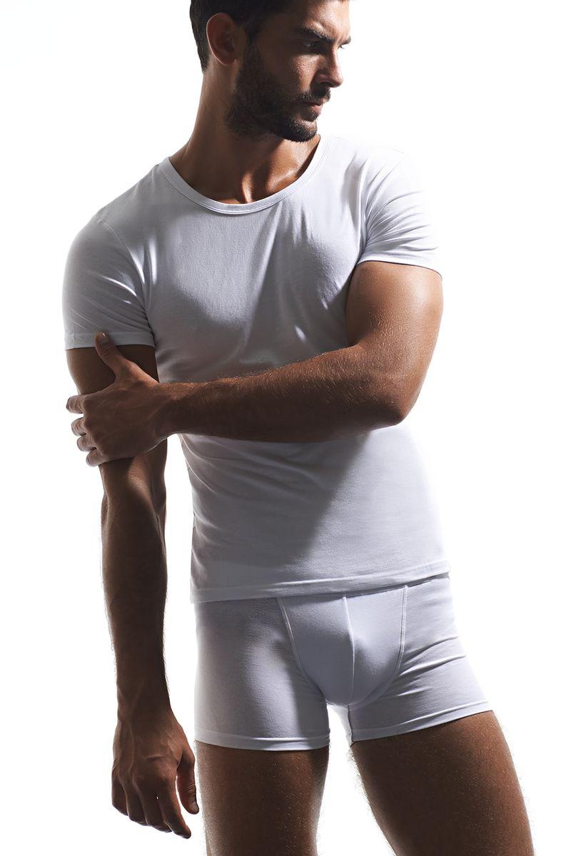 U01321Классическая мужская футболка итальянской марки GRIFF, из плотного мягкого хлопка c 5% добавлением эластана. Не ограничивает в движениях. Не подвержена деформации. Максимальный комфорт и практичность на каждый день.