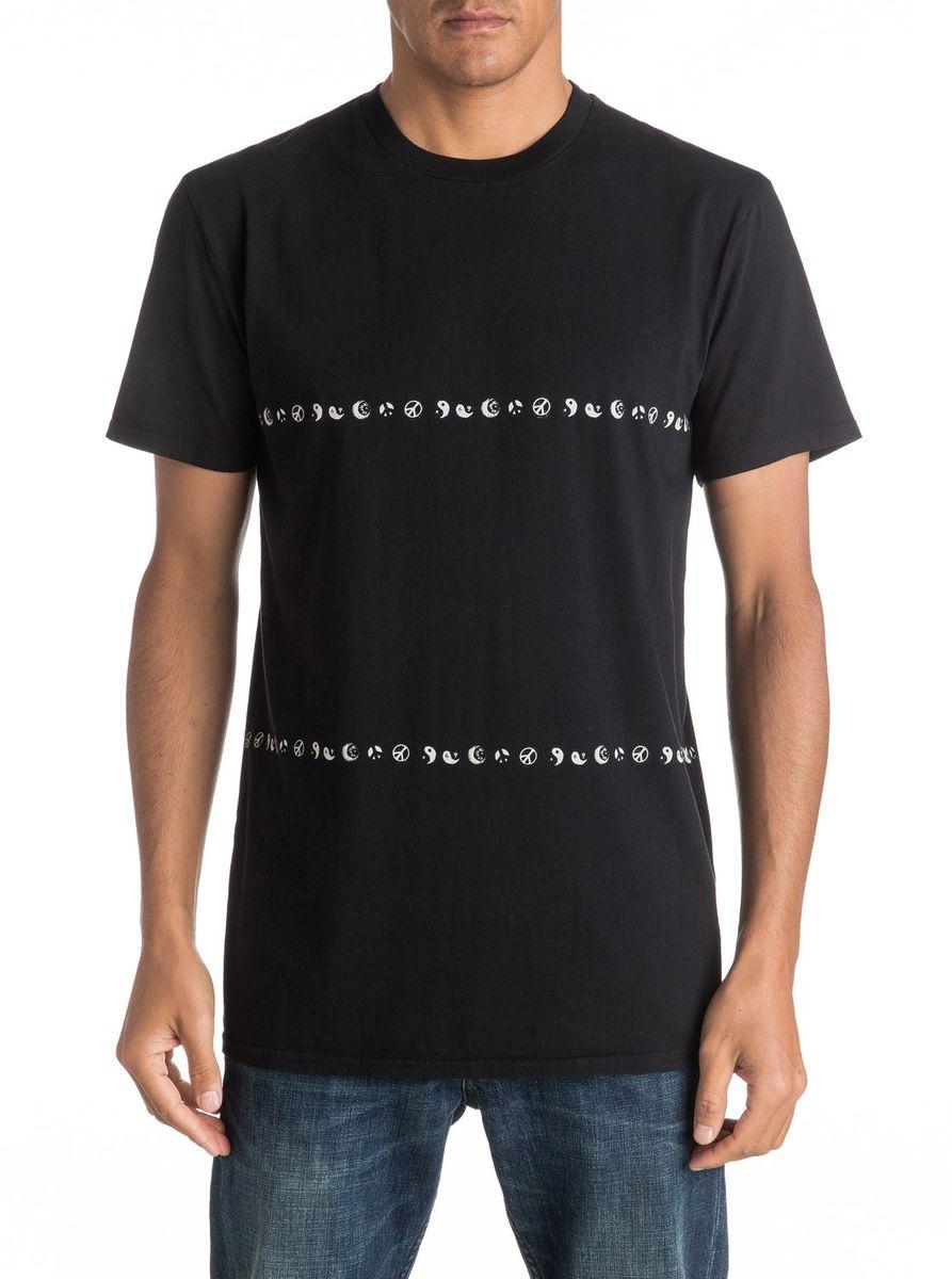 ФутболкаEQYKT03527-KVJ0Мужская футболка Quiksilver изготовлена из качественного материала. Модель выполнена с круглой горловиной и короткими рукавами.