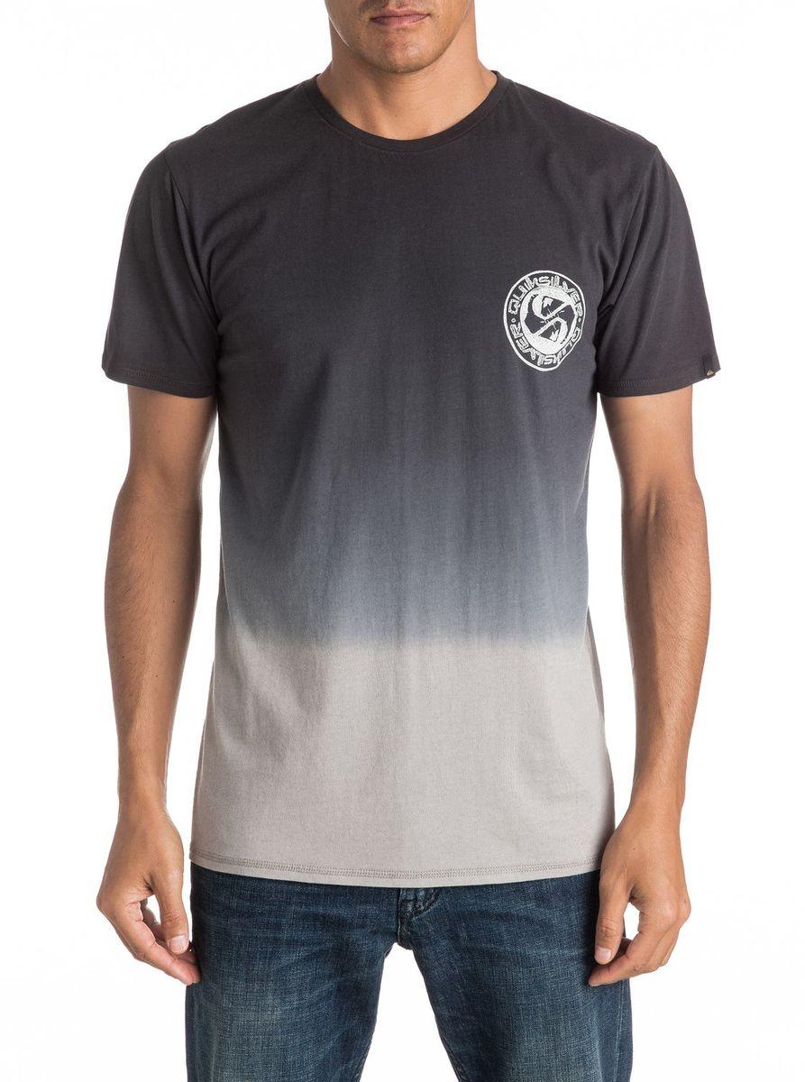 ФутболкаEQYZT04279-BYH0Мужская футболка Quiksilver изготовлена из качественного материала. Модель выполнена с круглой горловиной и короткими рукавами.