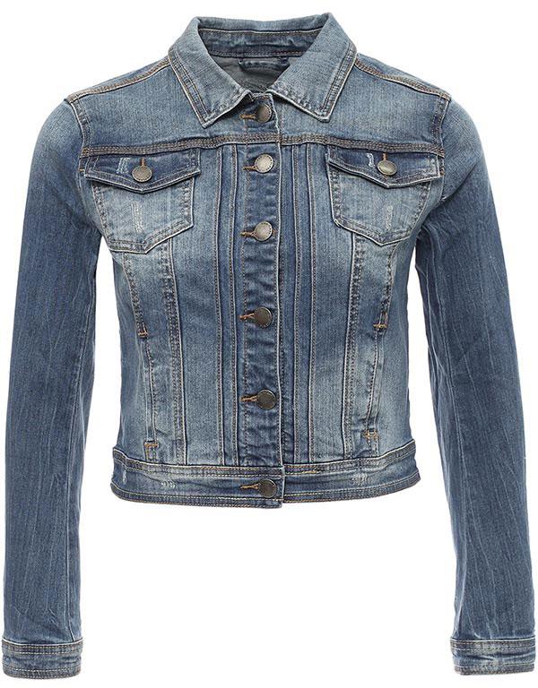КурткаB17-15002_125Куртка женская Finn Flare выполнена из хлопка и эластана. Модель с отложным воротником и длинными рукавами застегивается на пуговицы.