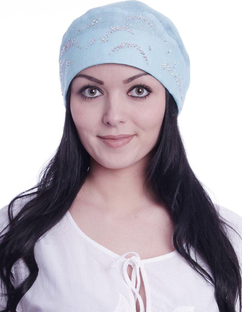 Бандана392496Прекрасный головной убор для лета из натуральных материалов,детали и оттенок изделия могут отличаться от представленных на фото