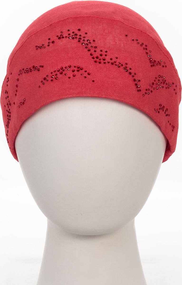 Бандана392501Прекрасный головной убор для лета из натуральных материалов,детали и оттенок изделия могут отличаться от представленных на фото