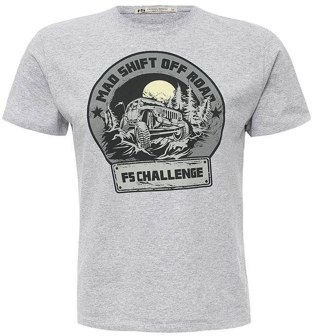 Футболка260023_02285/Challenge, TR Melange, grey melange