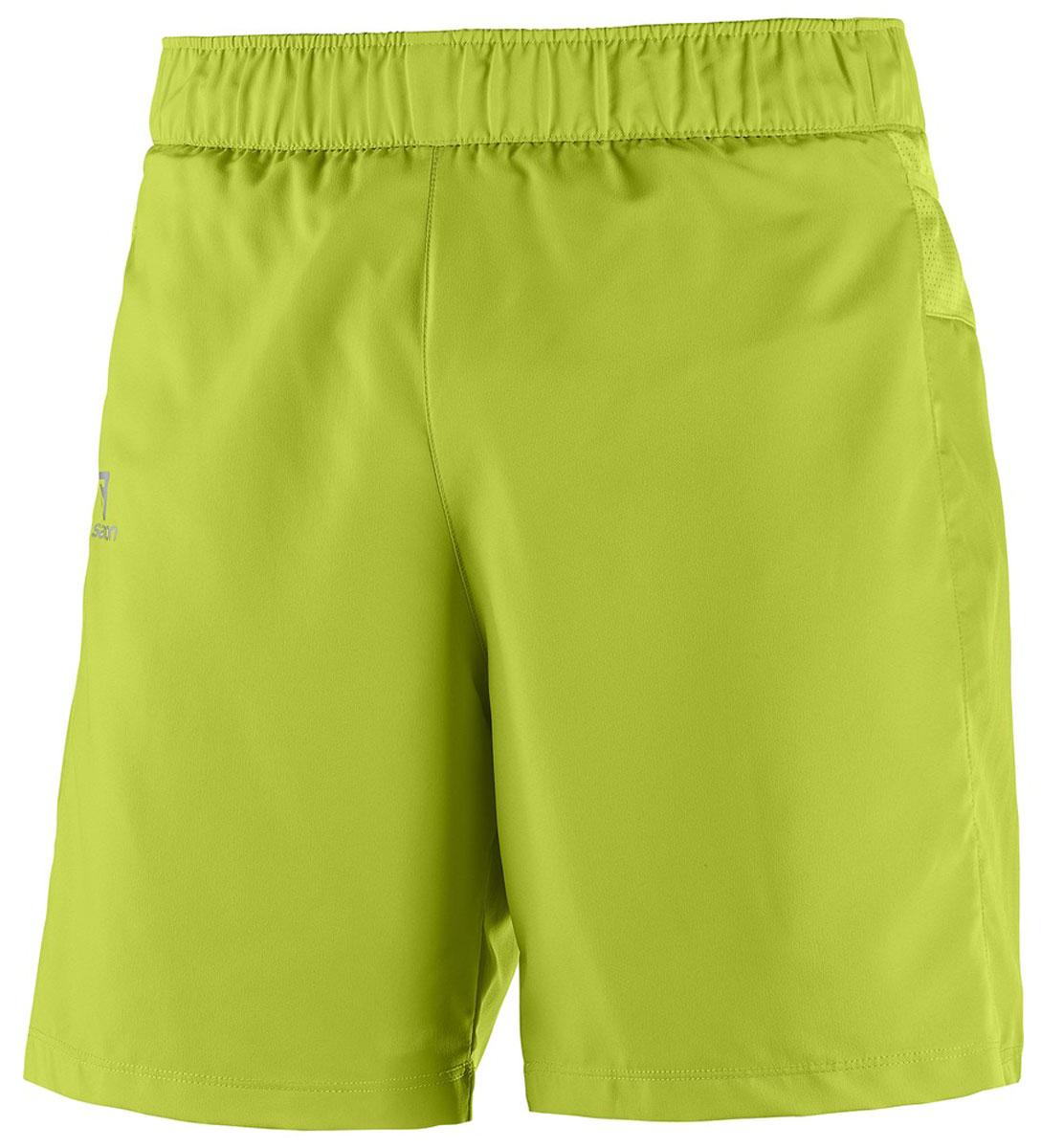L39385800Свободные легкие беговые шорты для мужчин Trail Runner с удобными карманами в задней части пояса идеально подходят для занятий различными видами спорта в любое время года.