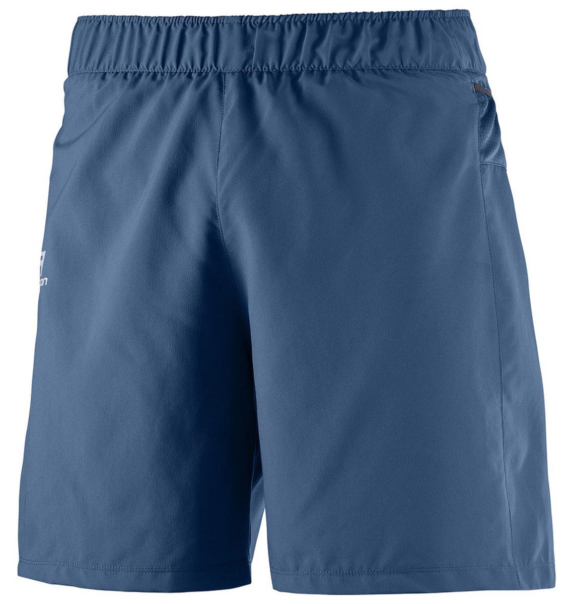 ШортыL39385700Свободные легкие беговые шорты для мужчин Trail Runner изготовлены из качественного полиэстера. Шорты с удобными карманами в задней части пояса идеально подходят для занятий различными видами спорта в любое время года.
