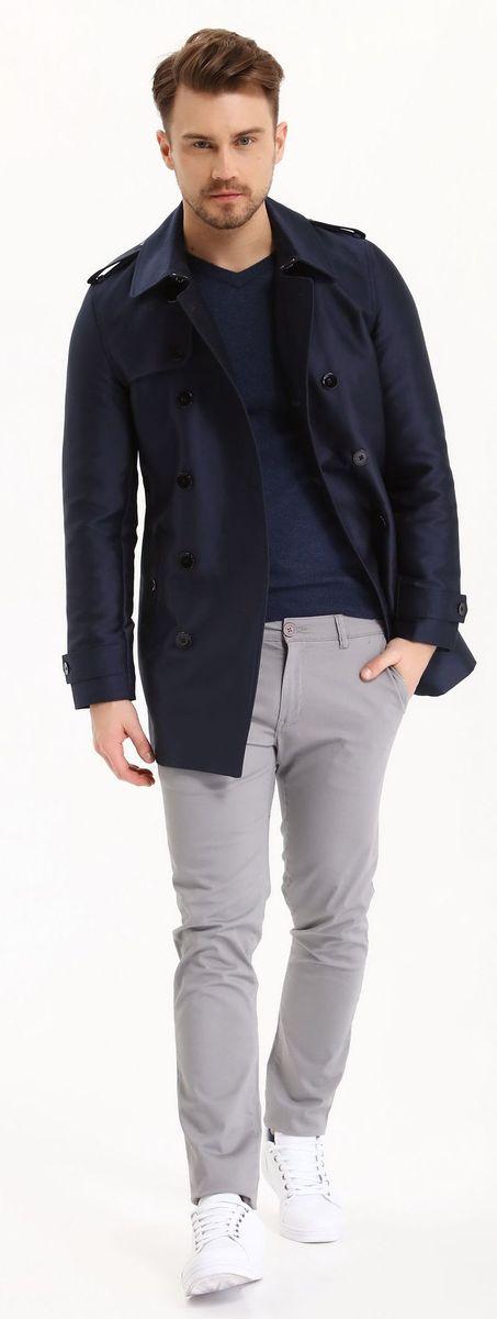 ДжемперSSW2116NISДжемпер мужской Top Secret выполнен из вискозы полиамида и альпаки. Модель с V-образным вырезом горловины и длинными рукавами.
