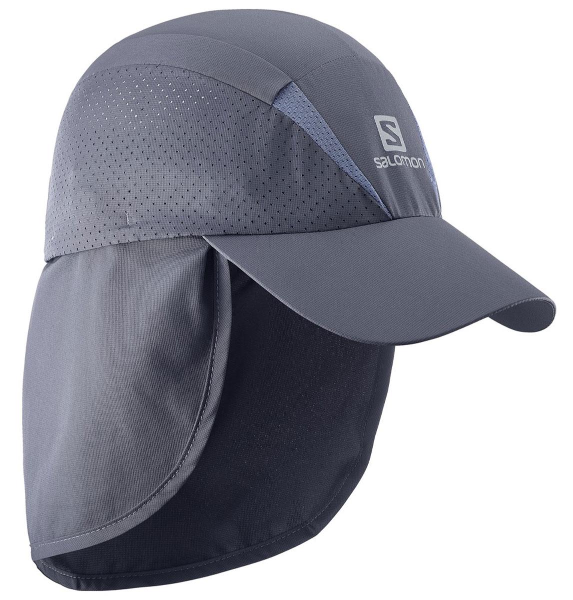 КепкаL39304100Новый лаконичный силуэт, низкий вес и хорошая вентиляция: кепка XA Cap быстро сохнет, сохраняя чувство свежести и комфорта во время беге. Дополнительная защита шеи от прямых солнечных лучей.