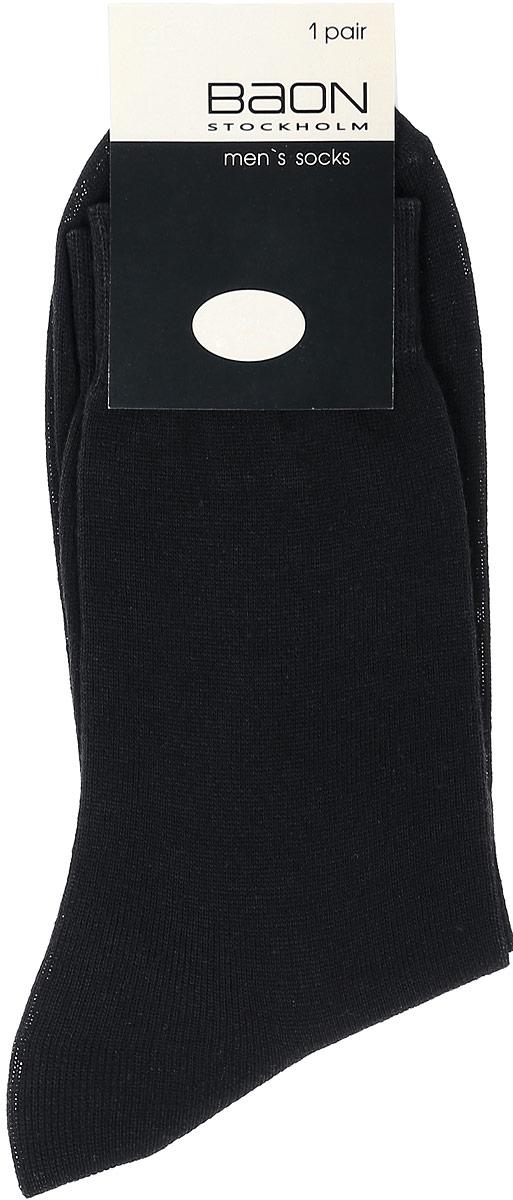 НоскиB897013_BlackМужские носки Baon изготовлены из высококачественного хлопка с добавлением полиамида. Носки имеют эластичную резинку, которая надежно фиксирует носки на ноге.