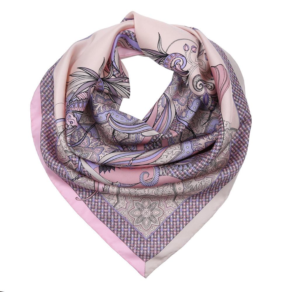 ПлатокCX1617-24-1Изысканный женский платок Fabretti выполнен из натурального шелка, который придает изделию неповторимый роскошный блеск и гладкость фактуры. Тонкая и прочная нить, создающая струящуюся ткать, подчеркнет изысканный вкус своей обладательницы.