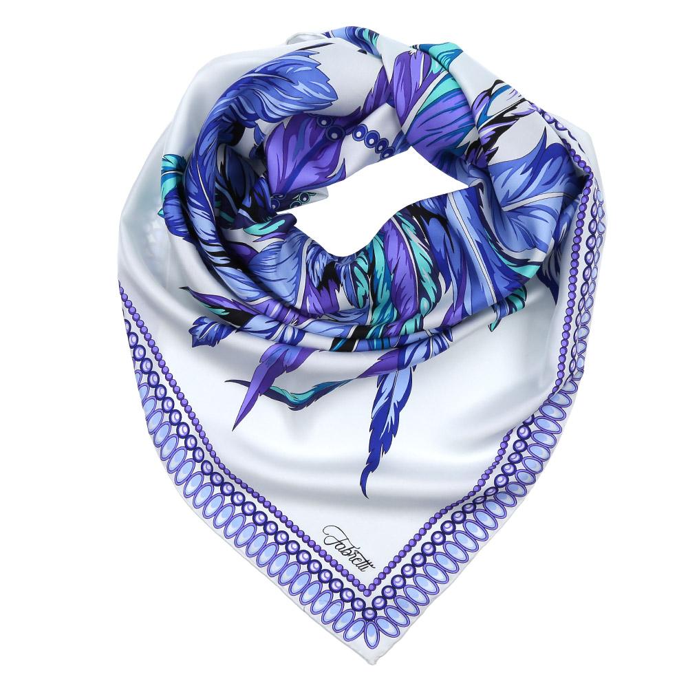 ПлатокCX1617-31-2Изысканный женский платок выполнен из натурального шелка, который придает изделию неповторимый роскошный блеск и гладкость фактуры. Тонкая и прочная нить, создающая струящуюся ткать, подчеркнет изысканный вкус своей обладательницы.