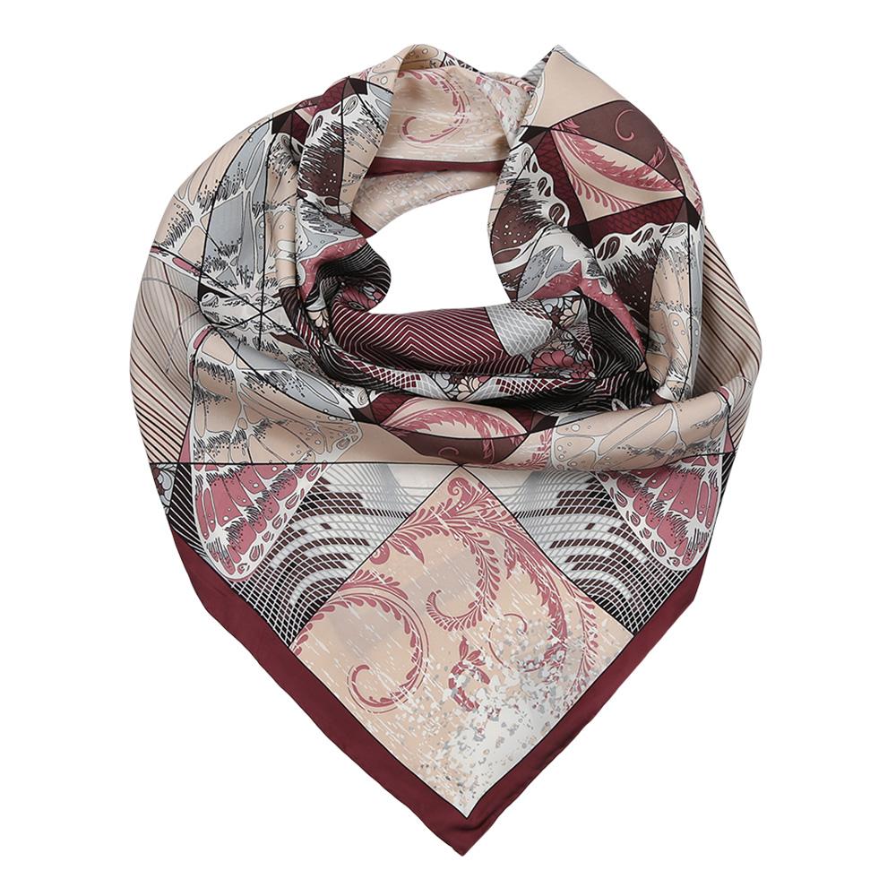 ПлатокCX1617-22-1Изысканный женский платок выполнен из натурального шелка, который придает изделию неповторимый роскошный блеск и гладкость фактуры. Тонкая и прочная нить, создающая струящуюся ткать, подчеркнет изысканный вкус своей обладательницы.