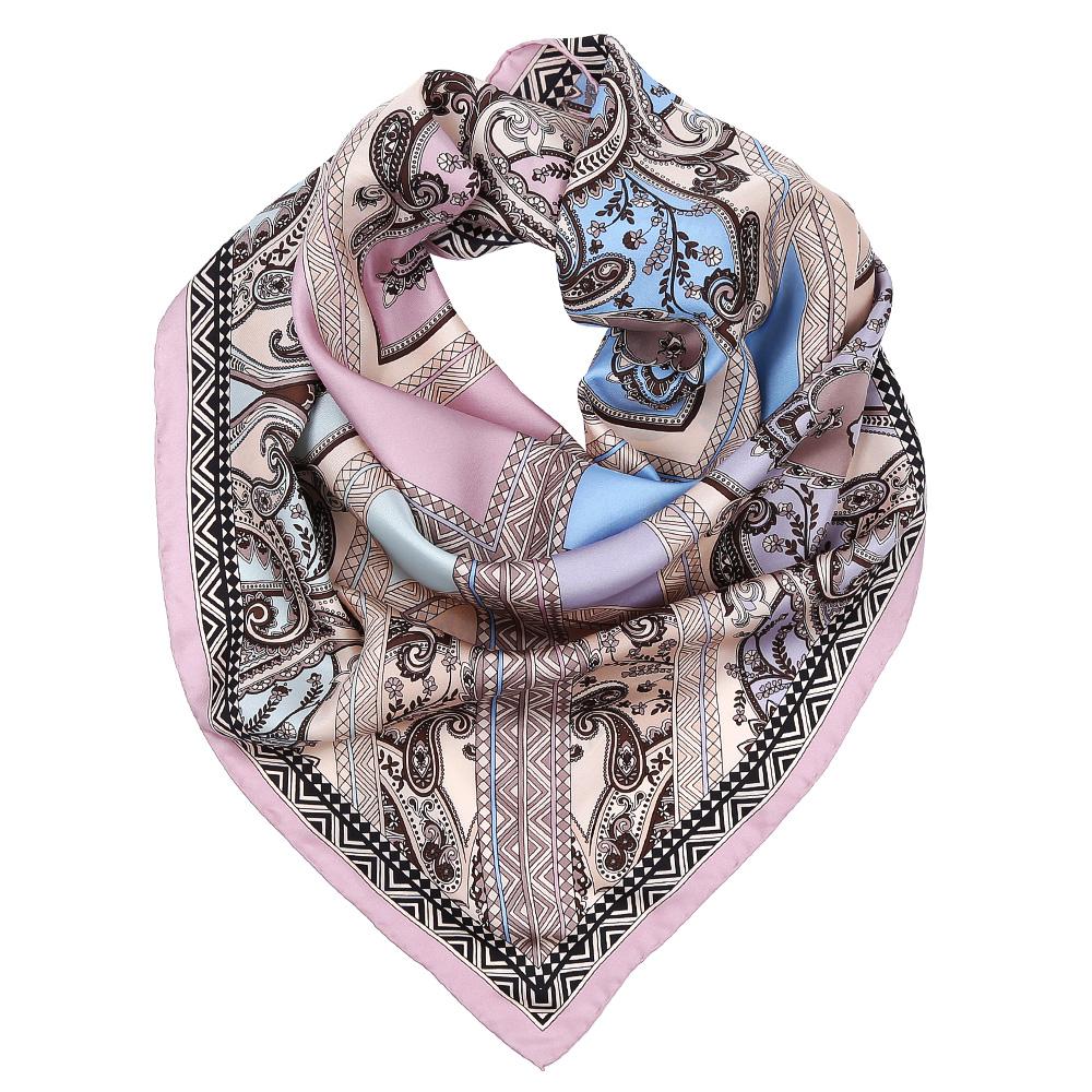 ПлатокCX1617-30-2Изысканный женский платок выполнен из натурального шелка, который придает изделию неповторимый роскошный блеск и гладкость фактуры. Тонкая и прочная нить, создающая струящуюся ткать, подчеркнет изысканный вкус своей обладательницы.