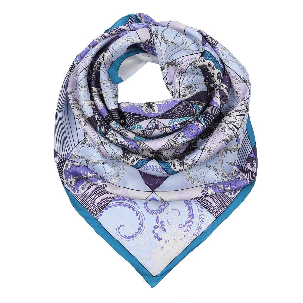 ПлатокCX1617-22-1Изысканный женский платок Fabretti выполнен из натурального шелка, который придает изделию неповторимый роскошный блеск и гладкость фактуры. Тонкая и прочная нить, создающая струящуюся ткать, подчеркнет изысканный вкус своей обладательницы.