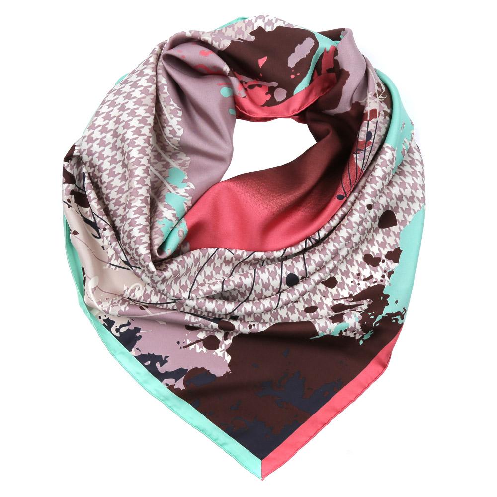 ПлатокCX1617-26-2Изысканный женский платок выполнен из натурального шелка, который придает изделию неповторимый роскошный блеск и гладкость фактуры. Тонкая и прочная нить, создающая струящуюся ткать, подчеркнет изысканный вкус своей обладательницы.