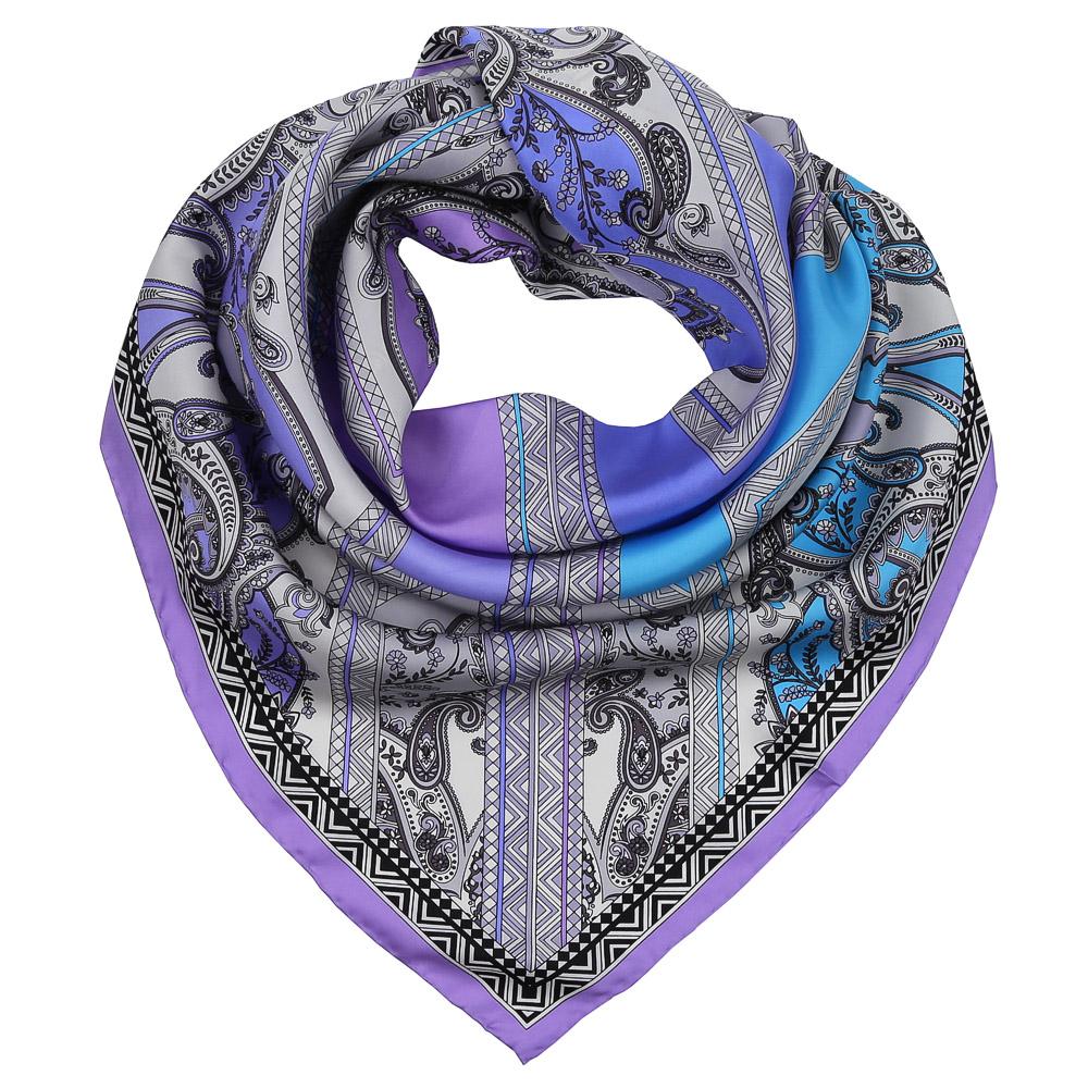 ПлатокCX1617-30-2Изысканный женский платок Fabretti выполнен из натурального шелка, который придает изделию неповторимый роскошный блеск и гладкость фактуры. Тонкая и прочная нить, создающая струящуюся ткать, подчеркнет изысканный вкус своей обладательницы.