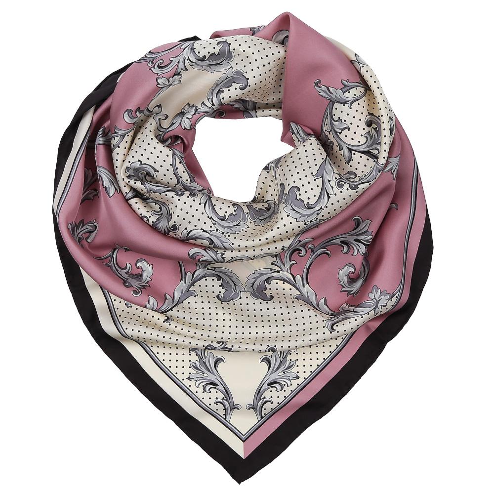 ПлатокCX1617-33-1Изысканный женский платок выполнен из натурального шелка, который придает изделию неповторимый роскошный блеск и гладкость фактуры. Тонкая и прочная нить, создающая струящуюся ткать, подчеркнет изысканный вкус своей обладательницы.
