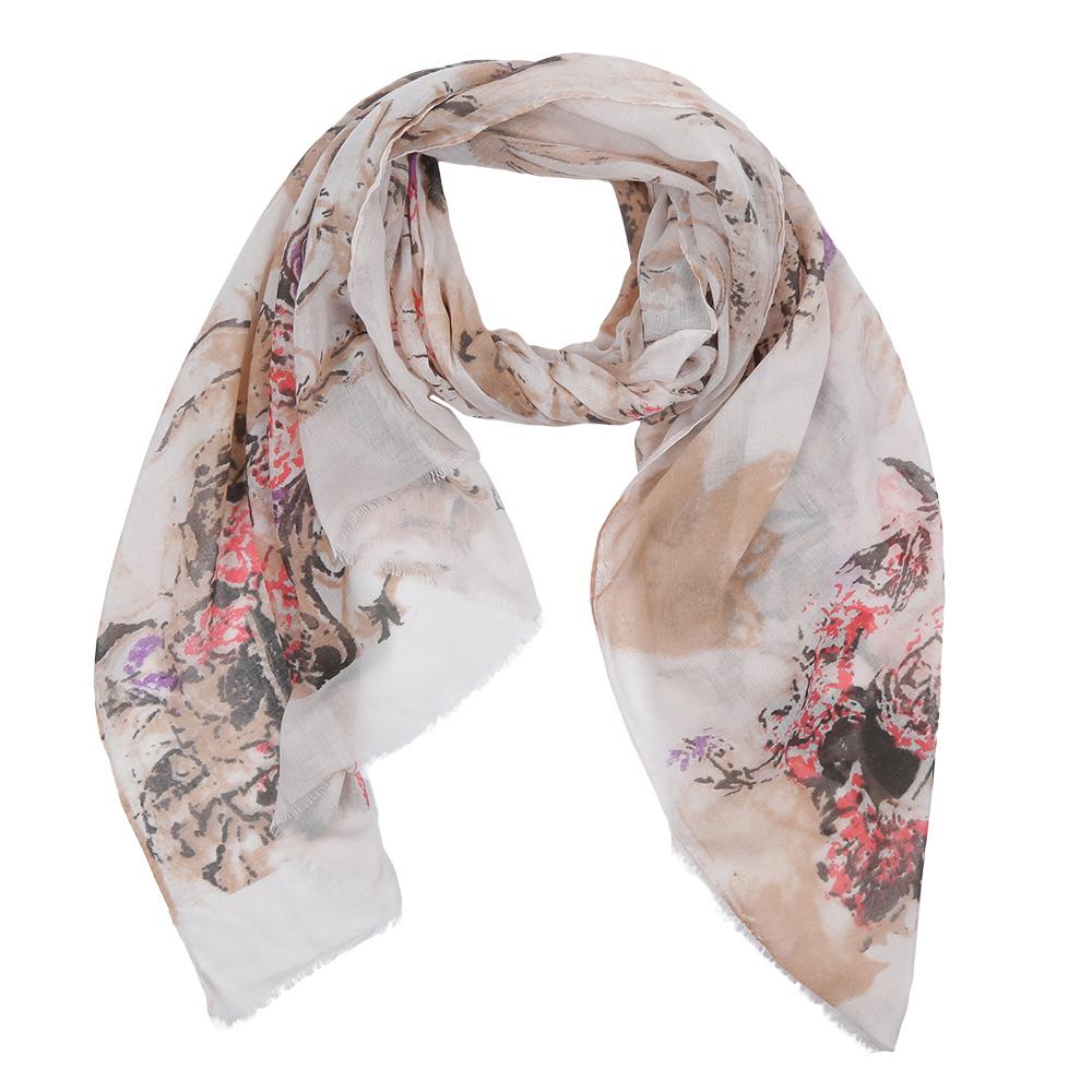 ШарфLeo342-AЭлегантный женский шарф от итальянского бренда Fabretti имеет неповторимую мягкость и легкость фактуры. Красочное сочетание цветов позволило дизайнерам создать изысканную модель, которая станет изюминкой любого весеннего образа.
