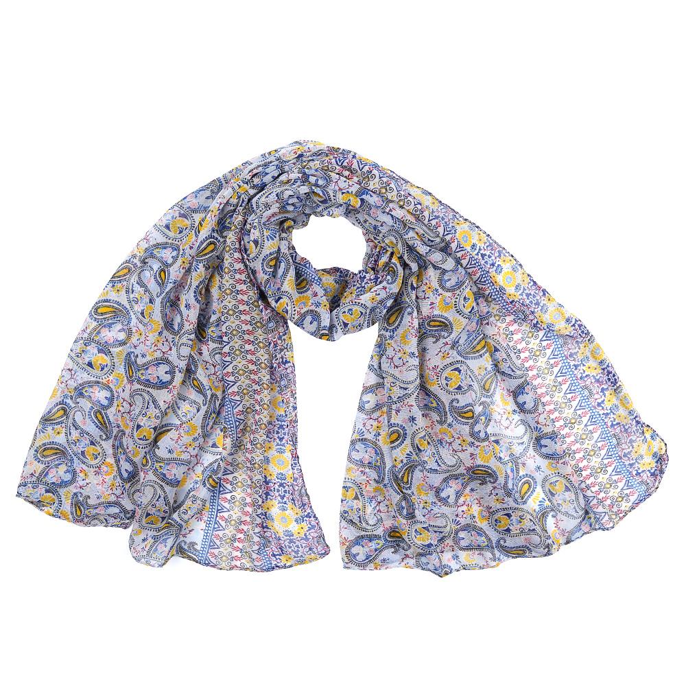 ШарфXHL2-3Элегантный женский шарф от итальянского бренда Fabretti имеет неповторимую мягкость и легкость фактуры. Сочетание цветов позволило дизайнерам создать изысканную модель, которая станет изюминкой любого весеннего образа.