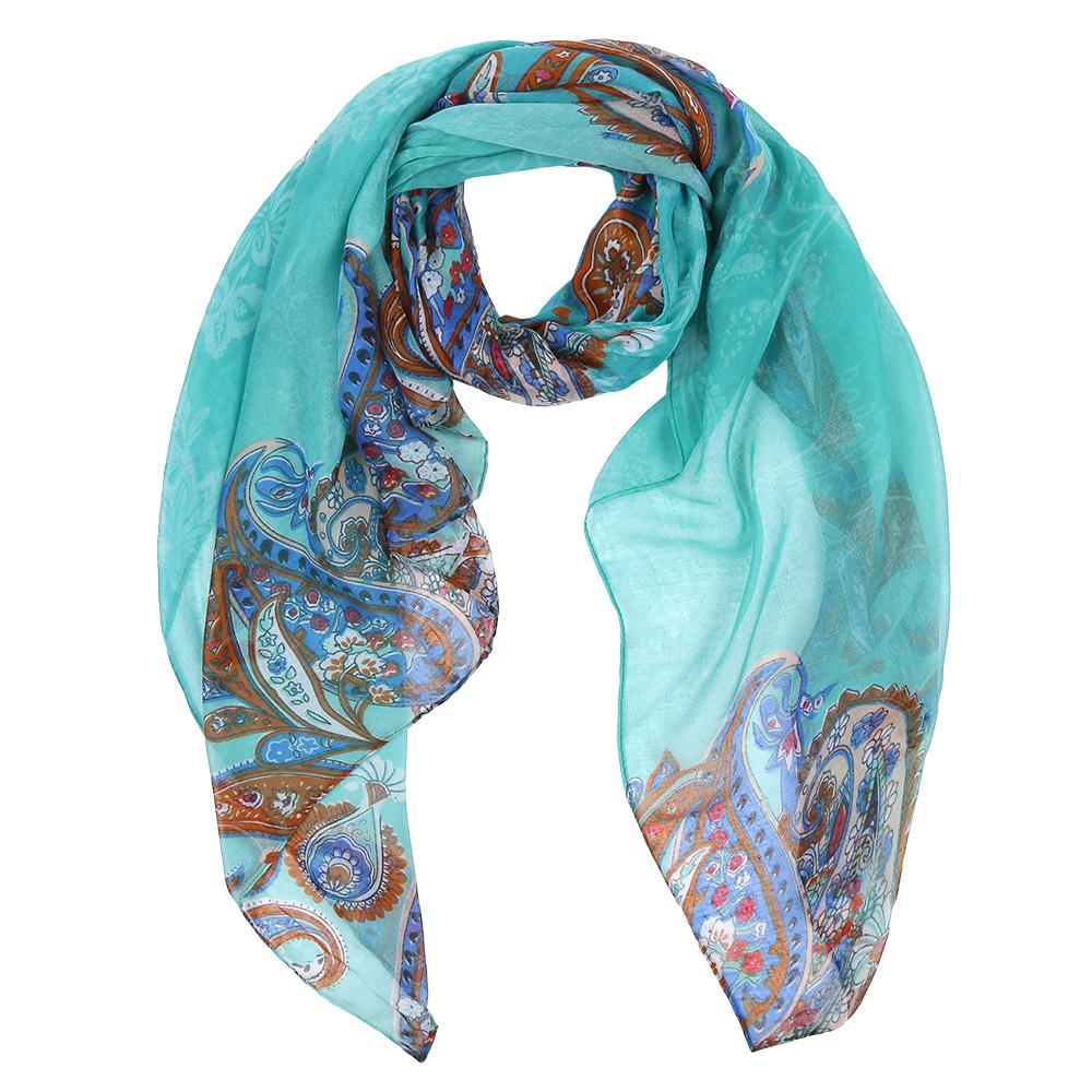 ШарфLeo037-CЭлегантный женский шарф от итальянского бренда Fabretti имеет неповторимую мягкость и легкость фактуры. Красочное сочетание цветов позволило дизайнерам создать изысканную модель, которая станет изюминкой любого весеннего образа.