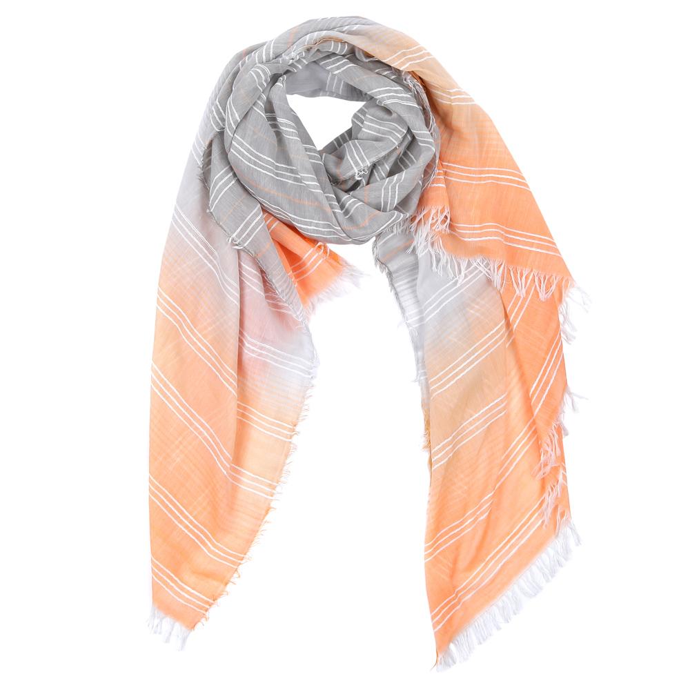 WJ9566-1Элегантный женский шарф от итальянского бренда Fabretti имеет неповторимую мягкость и легкость фактуры. Красочное сочетание цветов позволило дизайнерам создать изысканную модель, которая станет изюминкой любого весеннего образа.