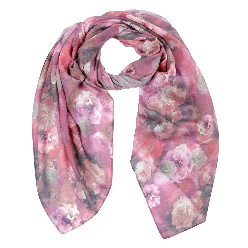 ШарфF1548-2Элегантный женский шарф от итальянского бренда Fabretti имеет неповторимую мягкость и легкость фактуры. Красочное сочетание цветов позволило дизайнерам создать изысканную модель, которая станет изюминкой любого весеннего образа.