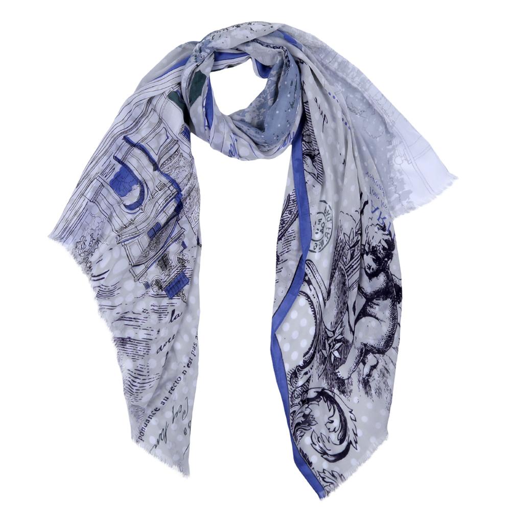 DS2016-004-13Элегантный женский шарф от итальянского бренда Fabretti имеет неповторимую мягкость и легкость фактуры. Красочное сочетание цветов позволило дизайнерам создать изысканную модель, которая станет изюминкой любого весеннего образа.