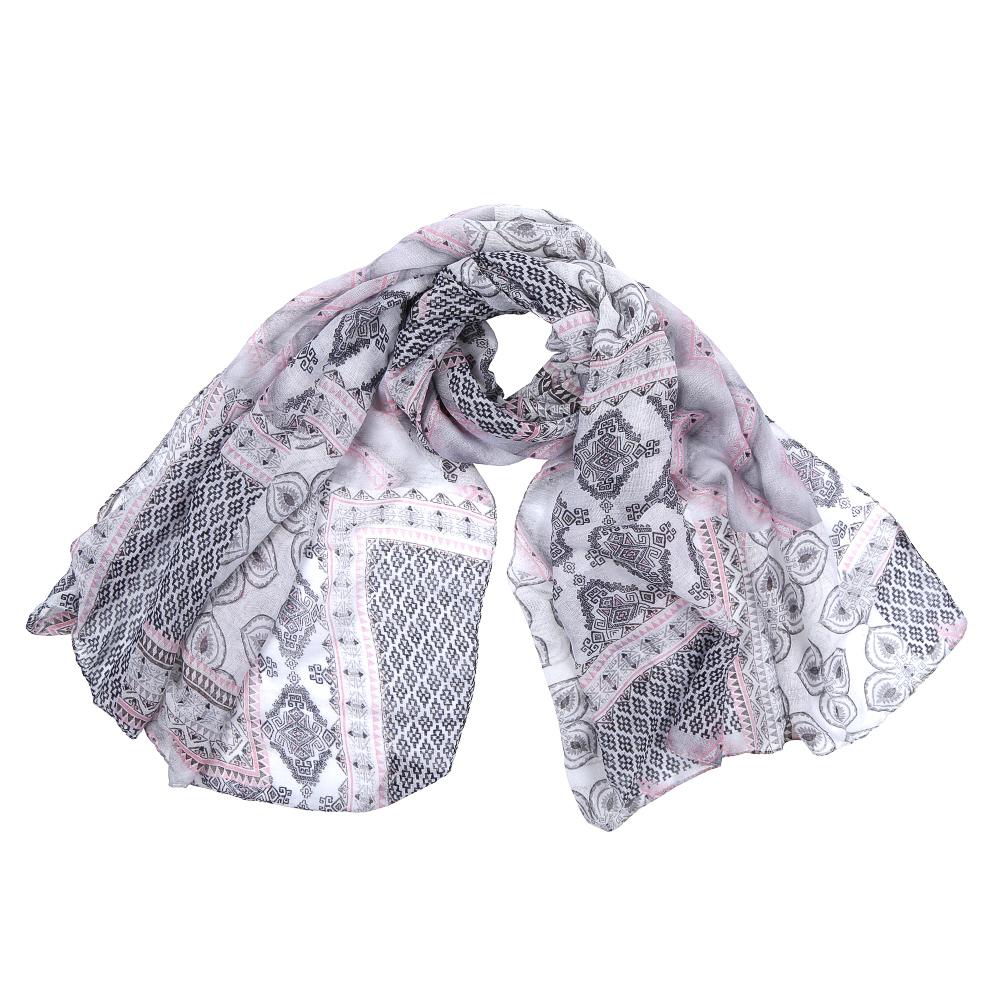 ШарфXHL1-1Элегантный женский шарф от итальянского бренда Fabretti имеет неповторимую мягкость и легкость фактуры. Красочное сочетание цветов позволило дизайнерам создать изысканную модель, которая станет изюминкой любого весеннего образа.