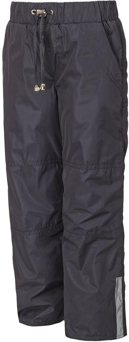 Брюки утепленныеБР007ФУтепленные брюки M&D выполнены из полиэстера, который не пропускает воду. Модель оформлена прострочкой, декоративным гульфиком и светоотражающими полосками. Брюки оснащены накладными карманами спереди и сзади. Эластичная резинка и завязки на поясе плотно зафиксируют модель. Теплая подкладка выполнена из флиса. Брючины дополнены эластичными резинками, которые предотвратят попадание снега.