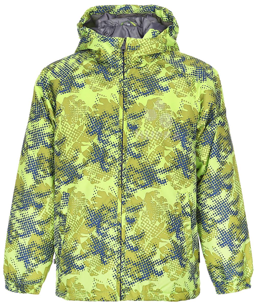 17710010-921Детская куртка Huppa изготовлена из водонепроницаемого полиэстера. Куртка с капюшоном застегивается на пластиковую застежку-молнию. Высокотехнологичный лёгкий синтетический утеплитель нового поколения сохраняет объём и высокую теплоизоляцию изделия. Края капюшона и рукавов собраны на внутренние резинки. У модели имеются два врезных кармана. Изделие дополнено светоотражающими элементами.