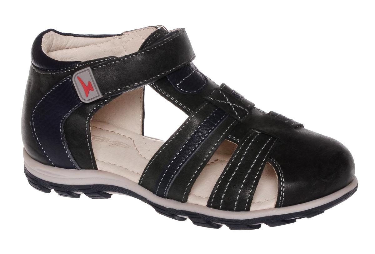 Сандалии11487-10Сандалии от Зебра выполнены из натуральной кожи. Внутренняя поверхность и стелька из натуральной кожи комфортны при ходьбе. Стелька дополнена супинатором, который обеспечивает правильное положение ноги ребенка при ходьбе и предотвращает плоскостопие. Ремешок с застежкой-липучкой позволяет прочно зафиксировать ножку ребенка.