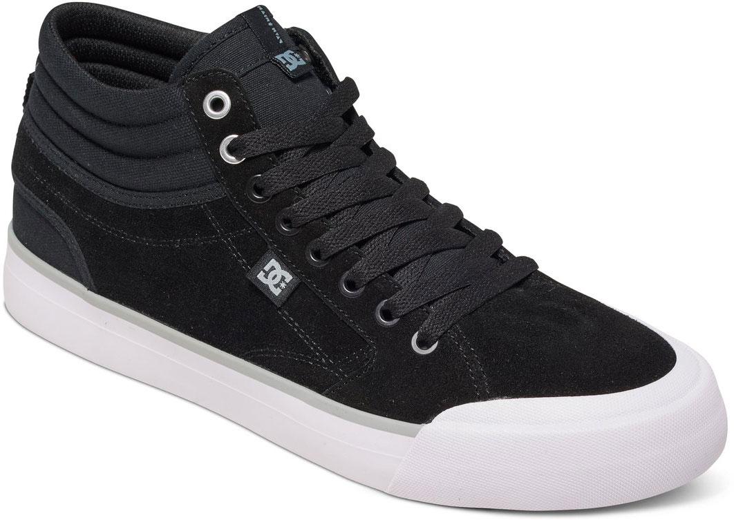 КедыADYS300380-BKWСтильные мужские кеды DC Shoes Evan Smith HI - отличный вариант на каждый день. Модель выполнена из натуральной кожи. Шнуровка надежно фиксирует обувь на ноге. Резиновая подошва с протектором гарантирует отличное сцепление с поверхностью. В таких кедах вашим ногам будет комфортно и уютно.