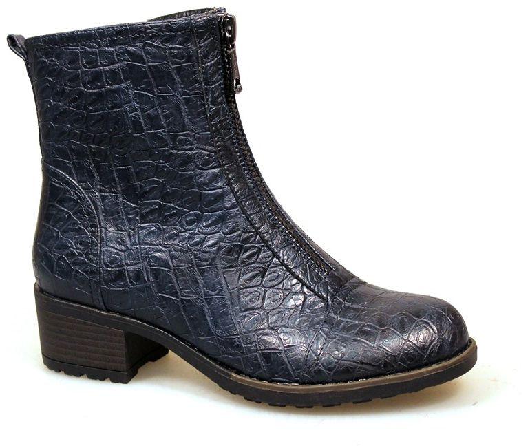 Ботинки2323-VI62109TМодные ботинки от Avenir займут достойное место в вашем гардеробе. Модель выполнена из искусственной кожи и декорирована перфорацией. Ботинки застегиваются спереди на застежку-молнию. Мягкая подкладка и стелька из байки сохраняют тепло, обеспечивая максимальный комфорт при движении. Рифленая поверхность каблука и подошвы защищает изделие от скольжения. Модные ботинки - незаменимая вещь в гардеробе любой женщины.