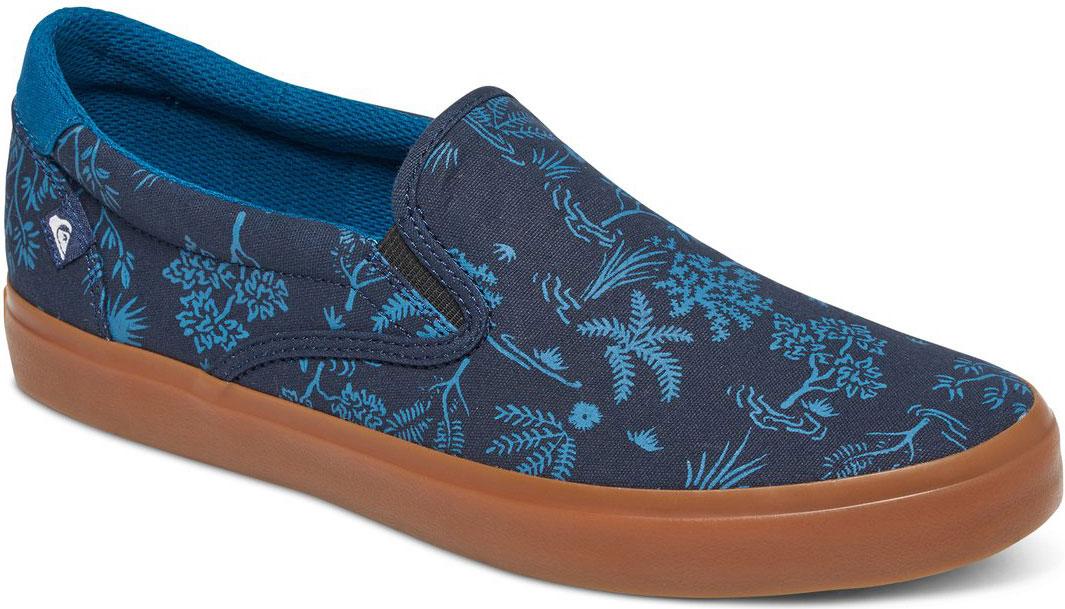СлипоныAQYS300033-XBBWСтильные мужские слипоны Quiksilver, выполнены из текстиля. Эластичные вставки по бокам обеспечивают идеальную посадку модели на ноге. Подкладка и стелька из текстиля придадут дополнительный комфорт при движении. Данная модель прекрасно сможет подчеркнуть ваш индивидуальный стиль.