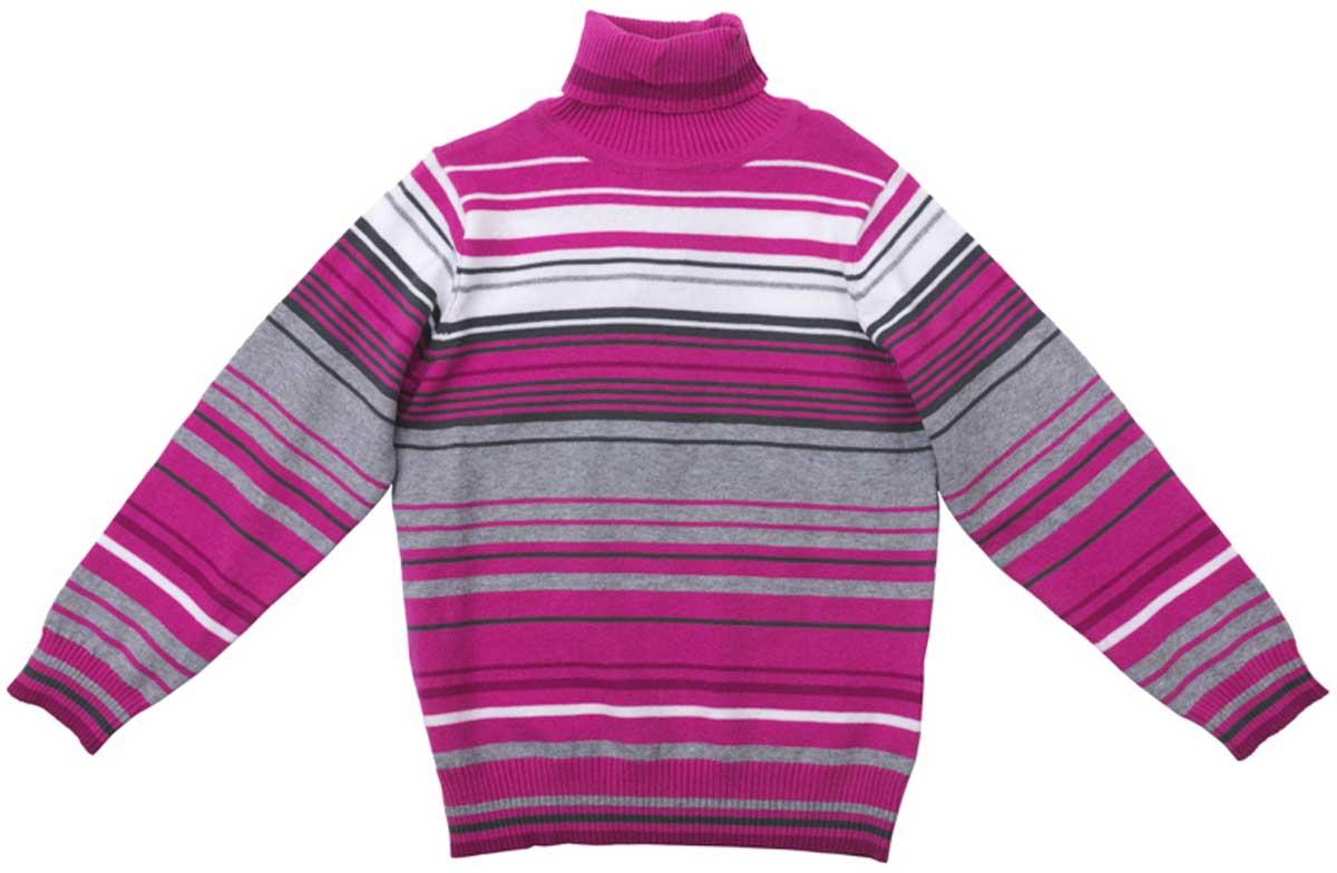 Свитер172057Свитер прекрасно подойдет для прохладной погоды, приятен к телу и не сковывает движений ребенка. Материал изделия изготовлен методом yarn dyed - в процессе производства в полотне используются разного цвета нити. Тем самым изделие, при рекомендуемом уходе, не линяет и надолго остается в прежнем виде, это определенный знак качества. Мягкие резинки на манжетах и по низу изделия позволяют ему держать форму. Преимущества: Метод производства - YARN DYED Мягкие резинки на манжетах и по низу изделия Натуральный материал приятен к телу
