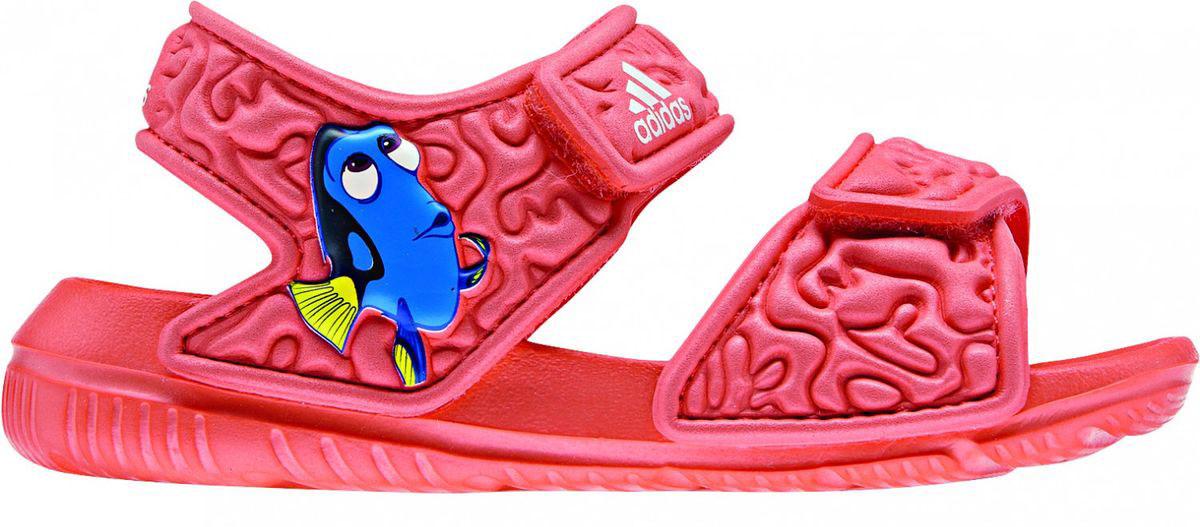 СандалииBA9327В этих очаровательных пляжных сандаликах с осьминогом Хэнком из мультфильма В поисках Дори малышам будет удобно играть у бассейна или на берегу моря. Текстильная подкладка обеспечивает комфорт маленьким ножкам, а мягкие ремешки на липучке облегчают надевание и снимание.