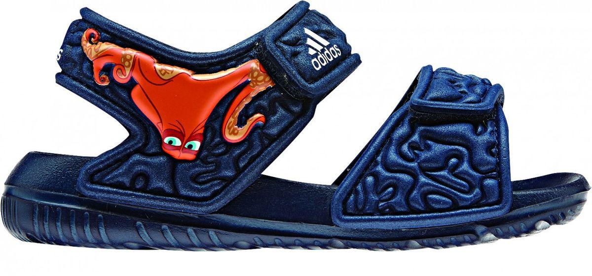 СандалииBA9328В этих очаровательных пляжных сандаликах с осьминогом Хэнком из мультфильма В поисках Дори малышам будет удобно играть у бассейна или на берегу моря. Текстильная подкладка обеспечивает комфорт маленьким ножкам, а мягкие ремешки на липучке облегчают надевание и снимание.