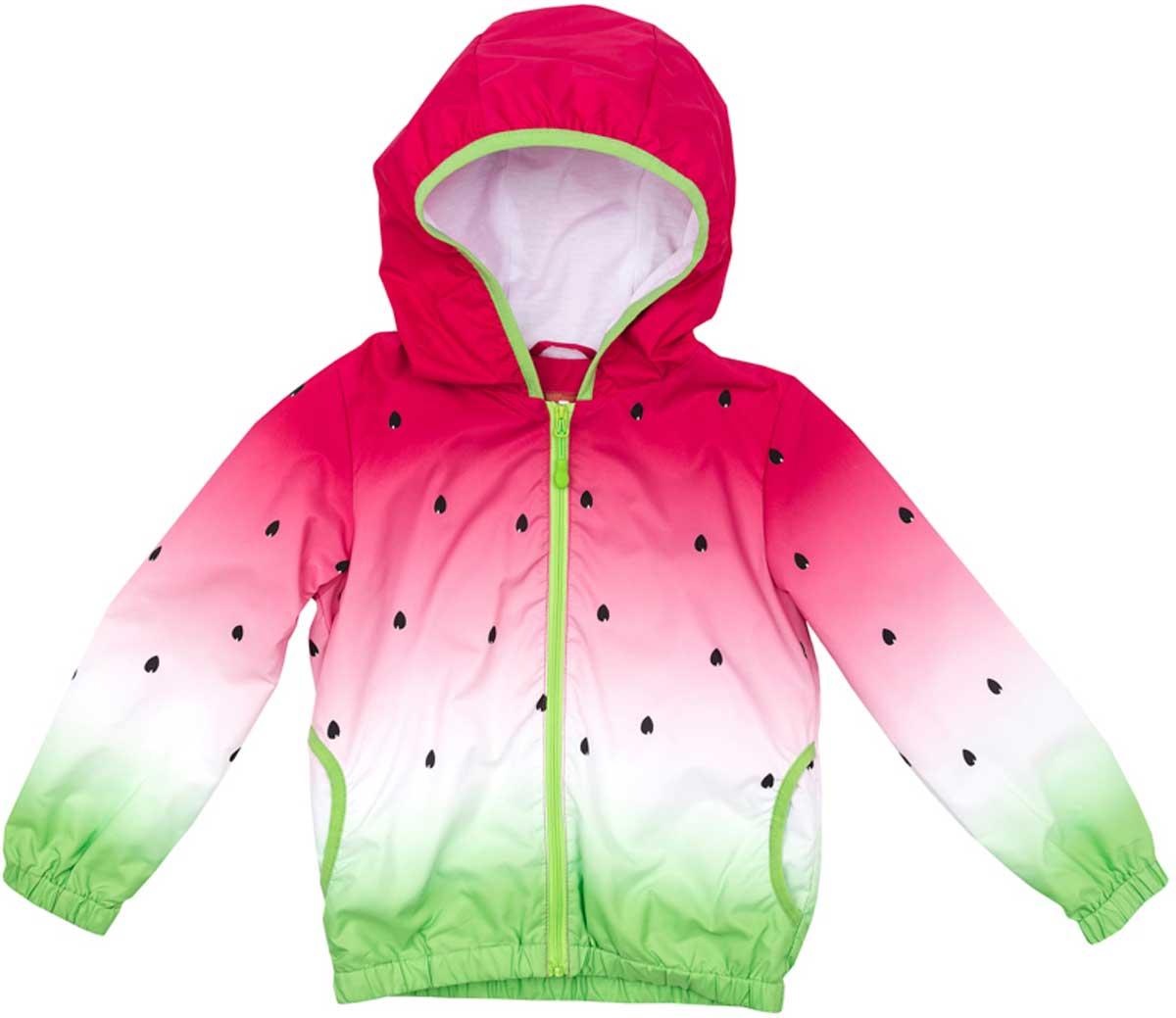Ветровка172152Практичная ветровка яркой сочной расцветки со специальной водоотталкивающей пропиткой защитит вашего ребенка в любую погоду! Мягкие резинки на рукавах и по низу изделия защитят ребенка - ветер не сможет проникнуть под ветровку. Модель с резинкой на капюшоне - даже во время активных игр капюшон не упадет с головы ребенка.
