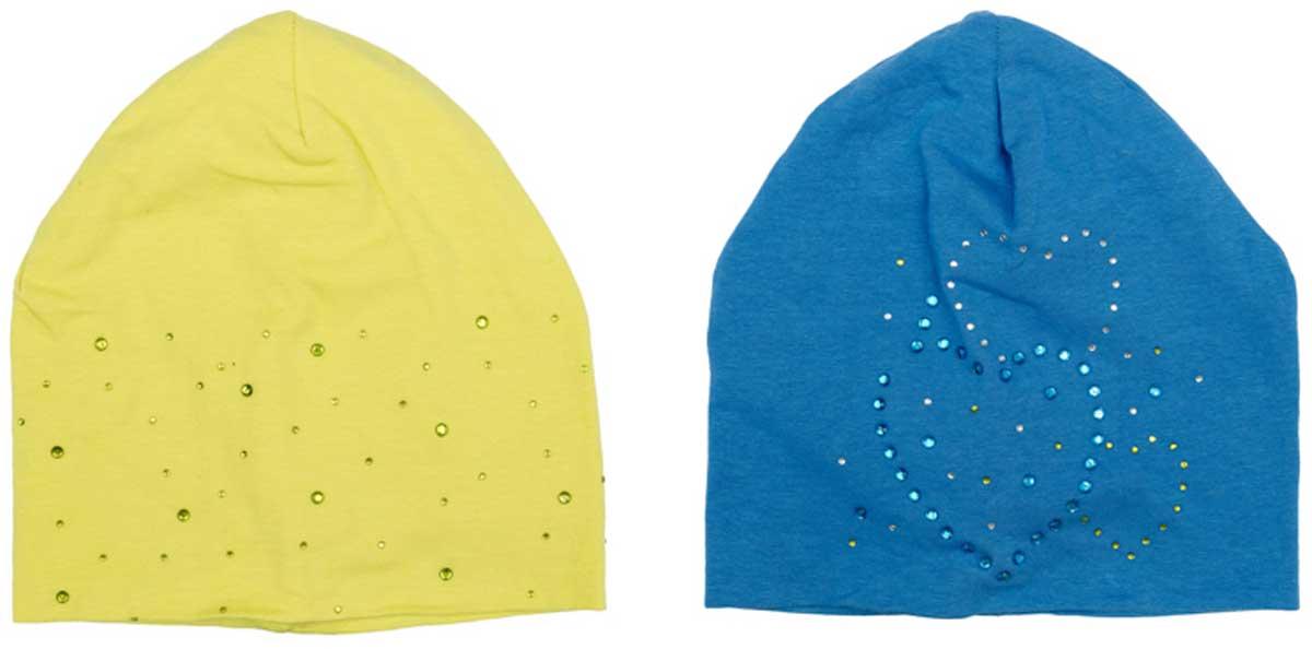 Шапка детская172127Комплект шапок из трикотажа подойдет Вашему ребенку для прогулок в прохладную погоду. Шапка без завязок, плотно прилегает к голове, комфортна при носке. Преимущества: Мягкий трикотаж Плотно прилегают к голове Комфортна при носке