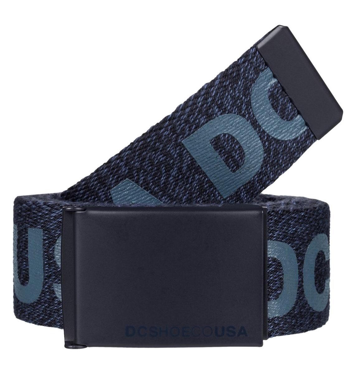 РеменьEDYAA03020-BYJ0Мужской ремень DC Shoes выполнен из текстиля. У модели контрастная пряжка.