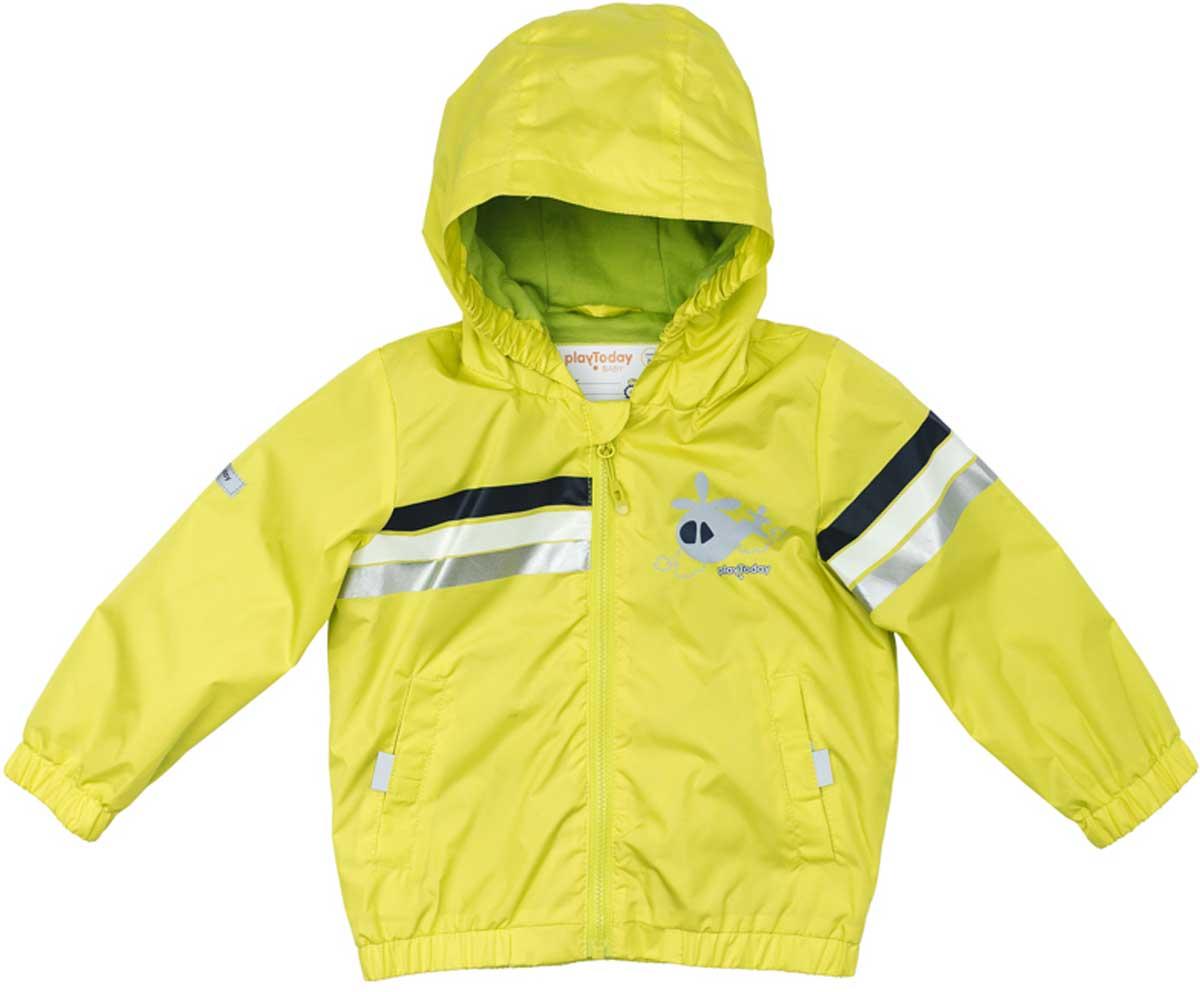 177052Куртка со специальной водоотталкивающей пропиткой защитит Вашего ребенка в любую погоду! Специальный карман для фиксации застежки - молнии не позволит застежке травмировать нежную кожу ребенка. Мягкие резинки на рукавах и по низу изделия защитят Вашего ребенка - ветер не сможет проникнуть под куртку. Модель с резинкой на капюшоне - даже во время активных игр капюшон не упадет с головы ребенка. Модель на подкладке из натурального материала. Подойдет даже для самых активных детей - подкладка хорошо впитывает влагу. Наличие светоотражателей обеспечит безопасность Вашего ребенка - он будет виден в темное время суток.Преимущества:Защита подбородка. Специальный карман для фиксации застежки - молнии не позволит застежке травмировать нежную кожу ребенкаНатуральная ткань подкладки хорошо впитывает влагу, приятна к телу и не вызывает раздраженийСветоотражатели на рукаве и по низу изделия.