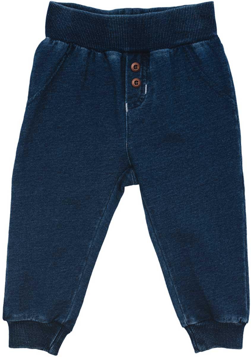 177805Удобные брюки смогут быть одной из базовых вещей в гардеробе Вашего ребенка. Модель на широкой резинке, низ штанин на мягких манжетах. Свободный крой не сковывает движений ребенка.