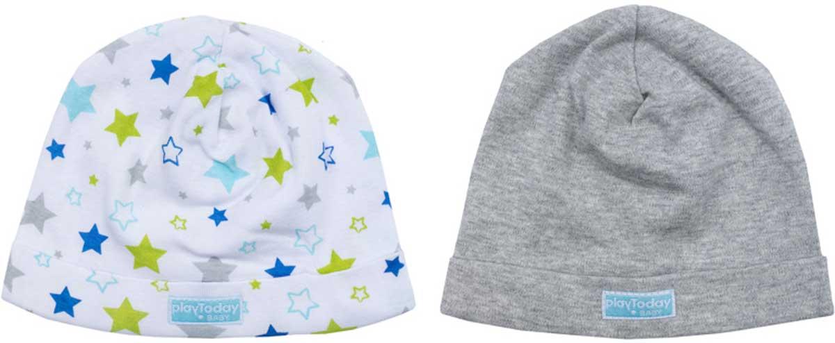 Чепчик177816Шапки для мальчика из трикотажа подойдет Вашему ребенку для прогулок в прохладную погоду. Шапки без завязок, плотно прилегают к голове, комфортны при носке.Преимущества:Плотно прилегают к головеКомфортны при носке