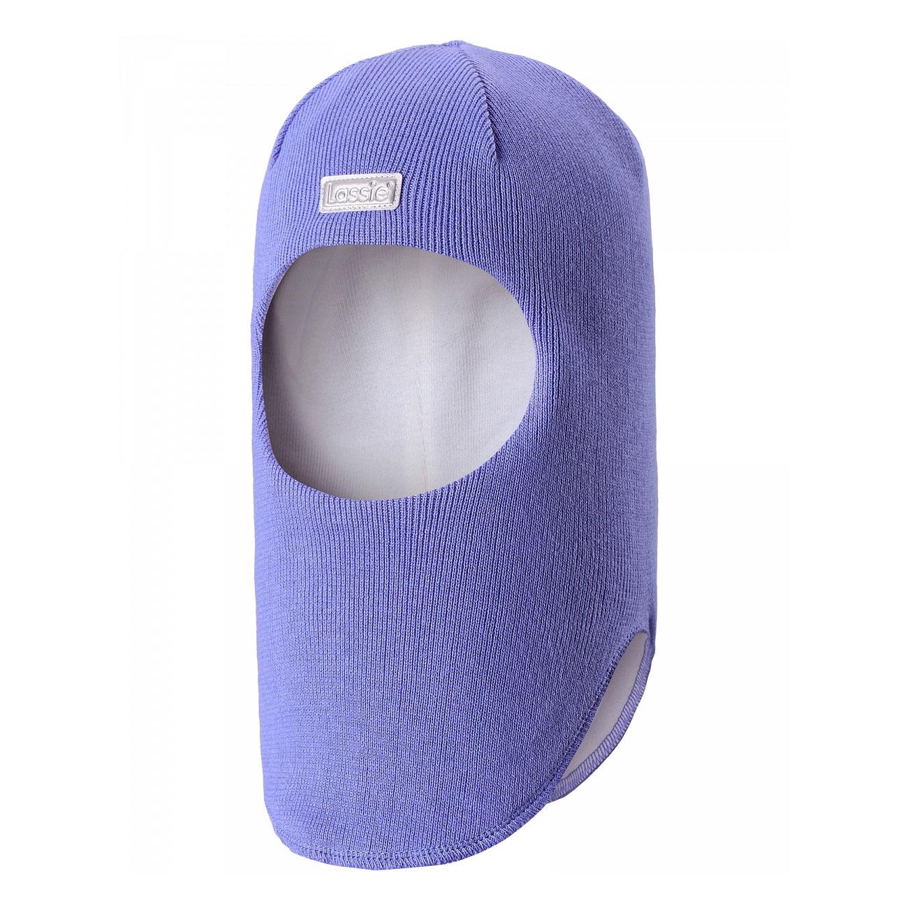 Балаклава детская7187113400Классическая эластичная и быстросохнущая балаклава Lassie изготовлена из эластичного хлопкового трикотажа. Снабжена полной подкладкой из мягкого и дышащего джерси из смеси хлопка. Эта шапка с ветронепроницаемыми вставками для ушей надежно защищает лоб, уши и шею от холодного ветра. Имеется светоотражающая эмблема спереди.