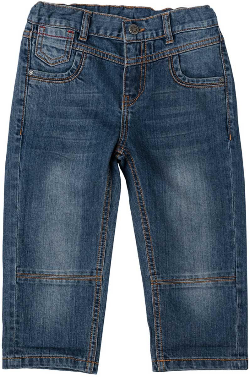 Бриджи/капри171058Бриджи из натуральной джинсовой ткани с эффектом потертости прекрасно подойдут вашему ребенку для отдыха и прогулок. Модель на мягкой резинке. Дополнительно снабжена шлевками для ремня. Мягкая ткань не сковывает движений ребенка. Модель с 5-ю карманами.