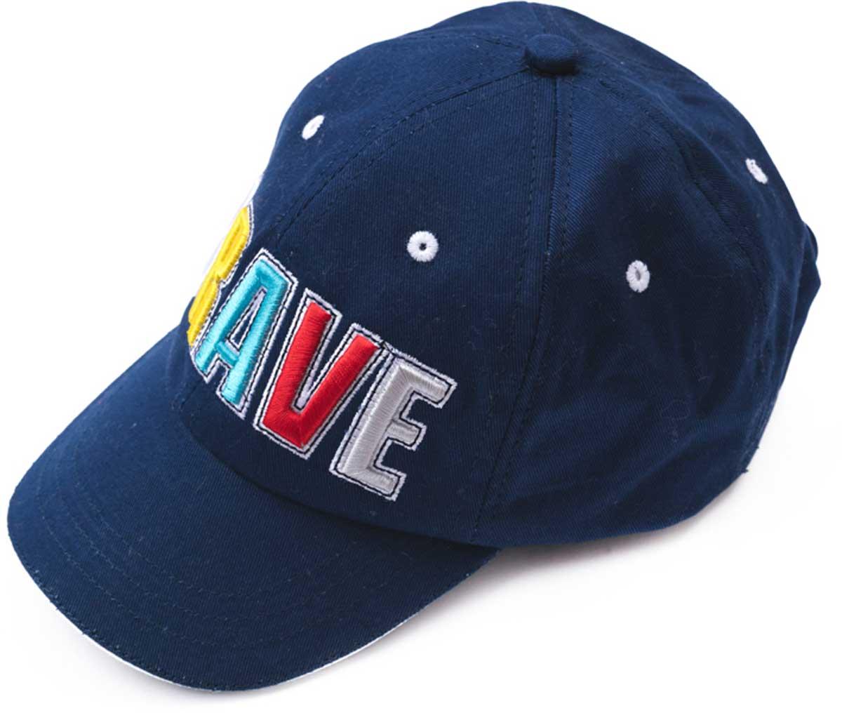 Бейсболка171082Модная кепка - бейсболка из натуральной джинсы, как у взрослых, понравится вашему ребенку. Модель снабжена эффектной аппликацией