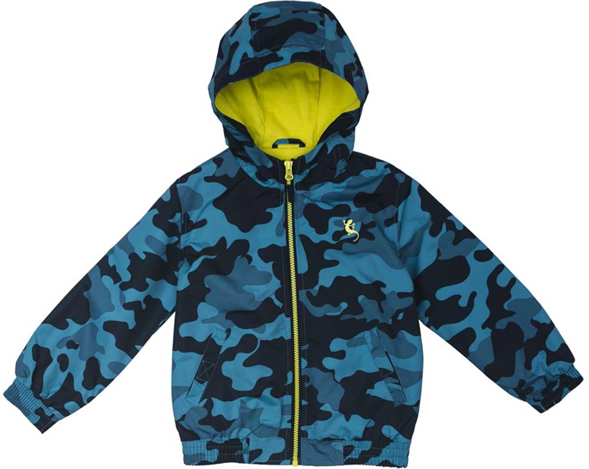 Куртка171102Практичная куртка расцветки камуфляж со специальной водоотталкивающей пропиткой защитит Вашего ребенка в любую погоду! Мягкие резинки на рукавах и по низу изделия защитят Вашего ребенка - ветер не сможет проникнуть под куртку. Модель с резинкой на капюшоне - даже во время активных игр капюшон не упадет с головы ребенка. Светоотражатели на рукаве и по низу изделия - один из гарантов безопасности, ребенок будет виден в темное время суток.Преимущества:Водоооталкивающая тканьМодель с резинкой на капюшоне.Светоотражатели на рукаве и по низу изделия.