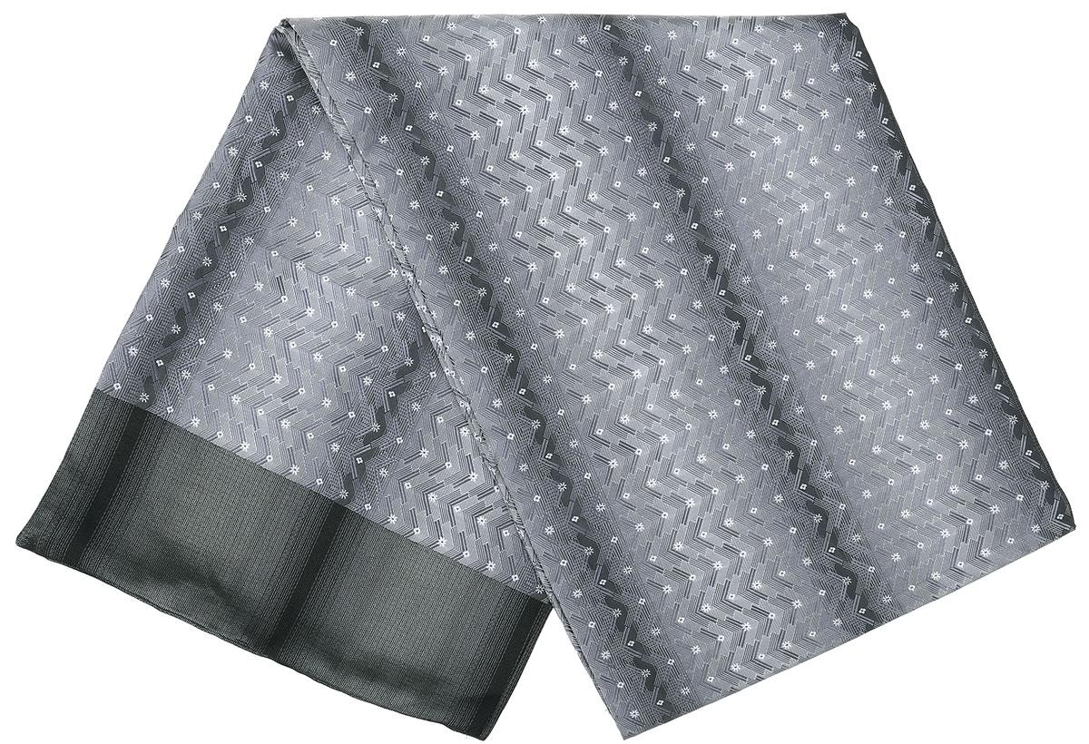 ШарфRo02G138-2932-1Стильный шарф Vittorio Richi изготовлен из полиэстера и шелка. Двусторонний текстильный шарф оформлен мелким рисунком. Края выполнены из однотонной ткани.
