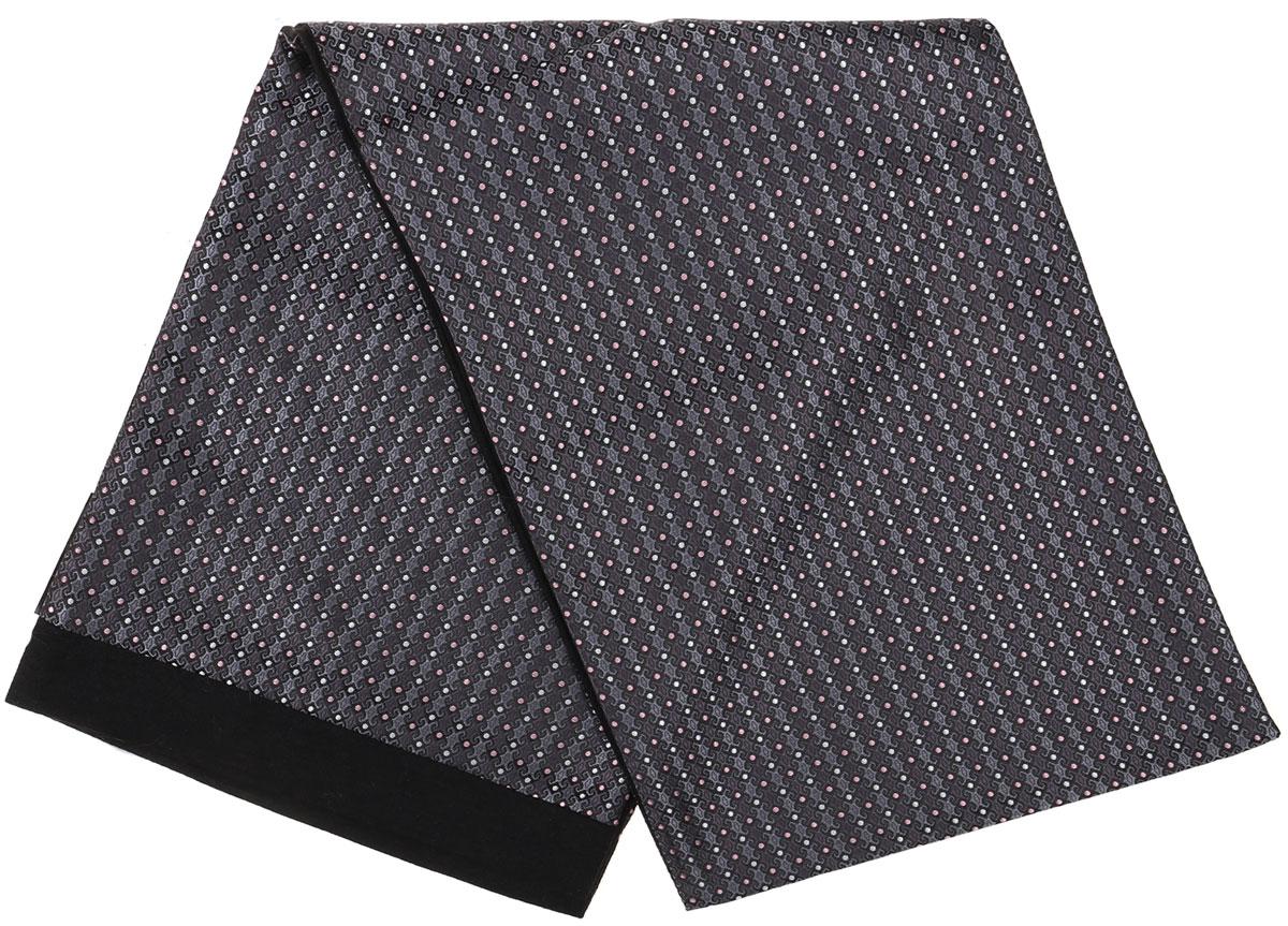 ШарфRo02G100-2983-13Стильный шарф Vittorio Richi изготовлен из полиэстера и шелка. Шарф оформлен мелким рисунком. Края и внутренняя сторона выполнены из мягкой однотонной ткани.