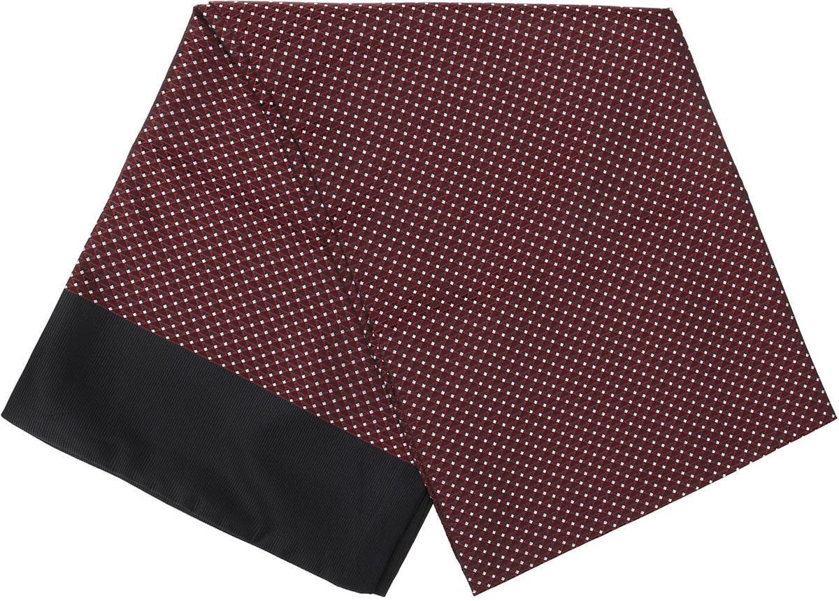 ШарфRo02G138-2967-13Стильный шарф Vittorio Richi изготовлен из полиэстера и шелка. Двусторонний текстильный шарф оформлен мелким рисунком. Края выполнены из однотонной ткани.