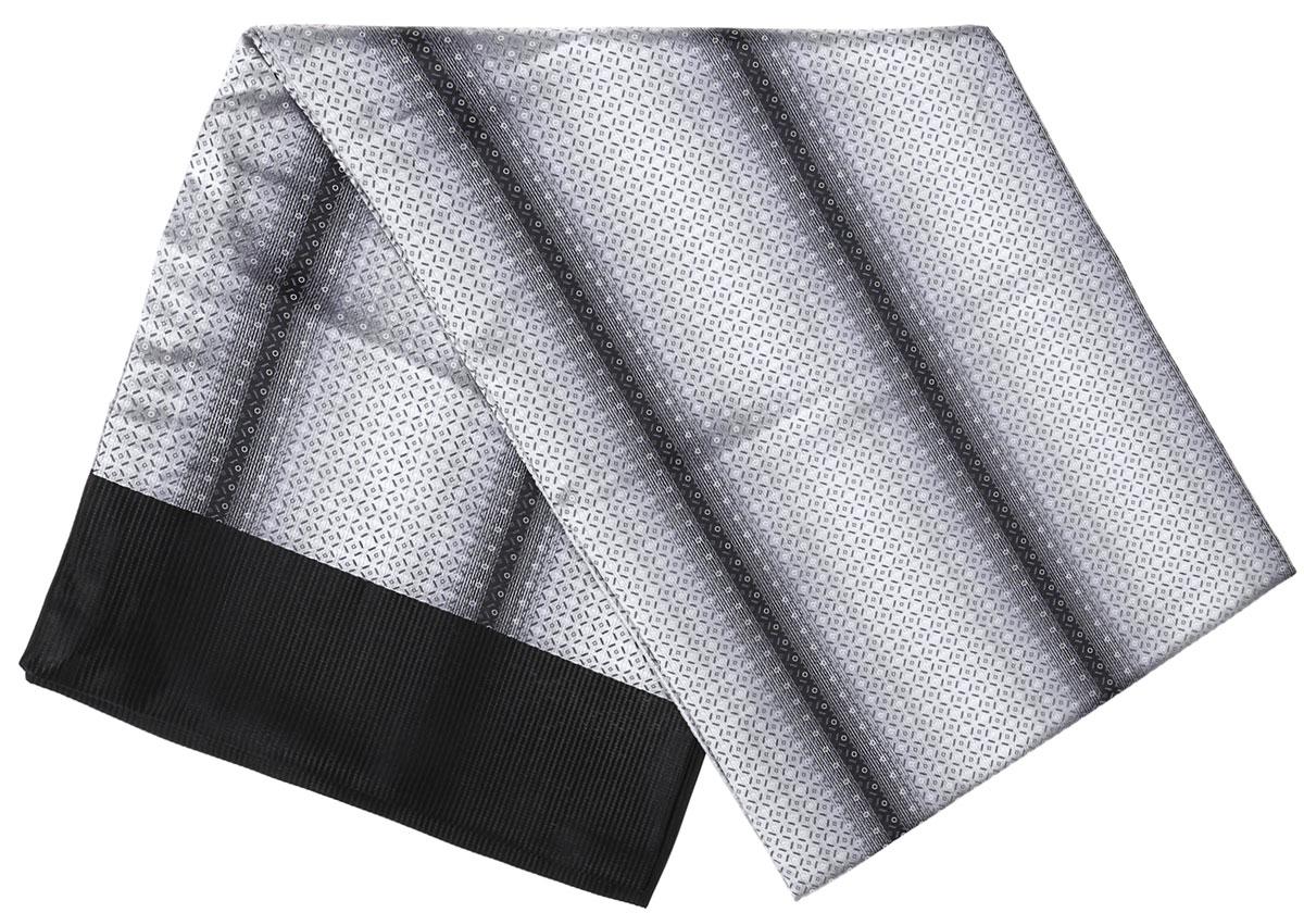 ШарфRo02G138-3010-1Стильный шарф Vittorio Richi изготовлен из полиэстера и шелка. Двусторонний текстильный шарф оформлен мелким рисунком. Края выполнены из однотонной ткани.